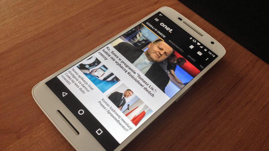 Aplikacja Onetu na iOS i Androida: teraz transmisje na żywo oraz kupony rabatowe