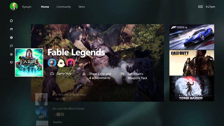 Nowe menu i wsteczna kompatybilność dla Xboksa One już 12 listopada