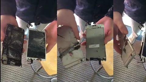 iPhone 6s Plus stanął w płomieniach, tym razem podczas lekcji w szkole