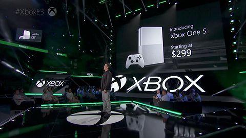 Malutki Xbox One, wspólne gry dla Xboksa i Windowsa 10, Gears of War 4 i wiedźmiński Gwint – Microsoft na E3