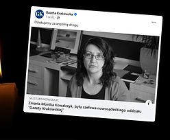 Nie żyje znana i lubiana dziennikarka. Monika Kowalczyk miała 47 lat