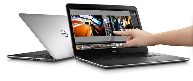 Dell XPS 15 Touch - ogromna wydajność w smukłej obudowie