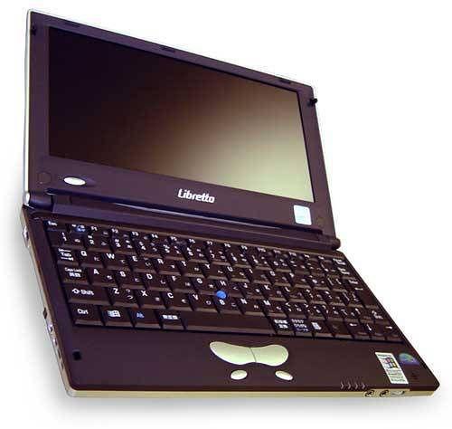 Toshiba Libretto L5: laptop z Windowsem na procesorze Transmeta Crusoe