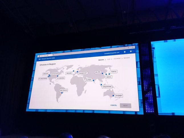 Wszystkie strefy chmury Amazonu otwarte na środowiska VMware