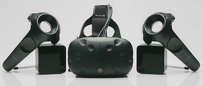 HTC Vive z nowymi kontrolerami i kamerką z przodu
