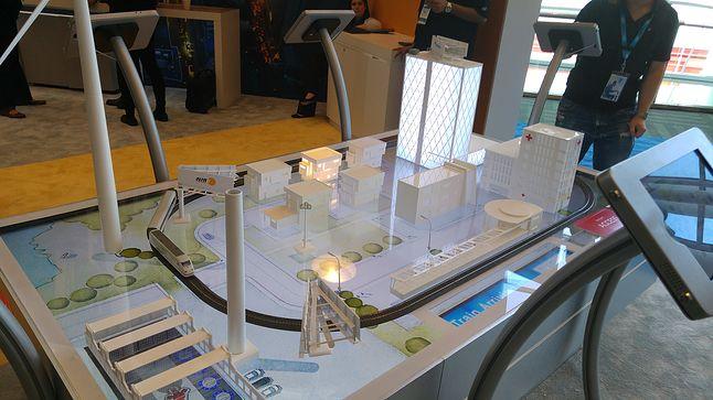 Model nadzorowanego przez Internet Rzeczy (i platformę Wind River) miasta