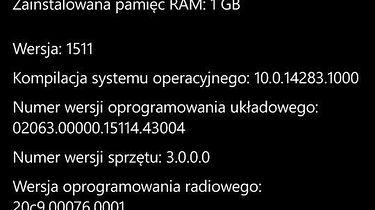 Windows 10 Mobile wreszcie trafił na starsze Lumie, lecz to wciąż nie koniec drogi – mobilna i desktopowa kompilacja Redstone o numerze 14291 - Starsza wersja, o której tu i ówdzie wspominam