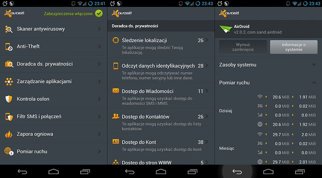 Avast Mobile Security dla Androida