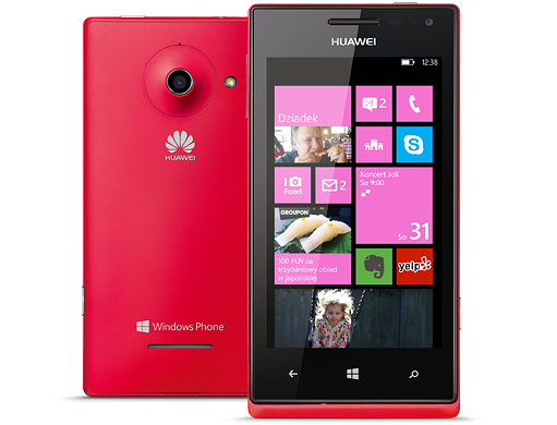 Huawei Ascend W1 z Windows Phone 8
