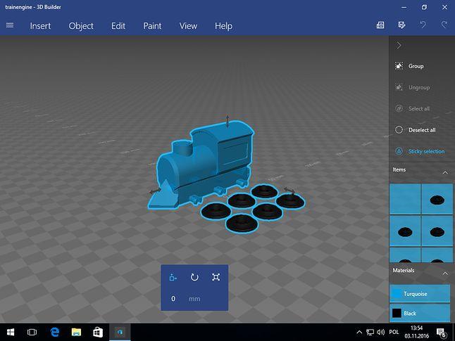 Builder 3D domyślnie w nowym Windowsie 10