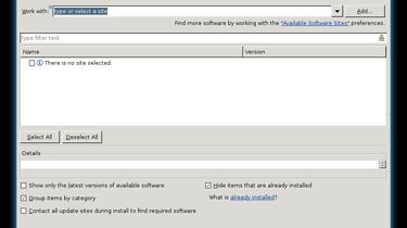 AVR: Integracja z ECLIPSE CDT - Instal New Software