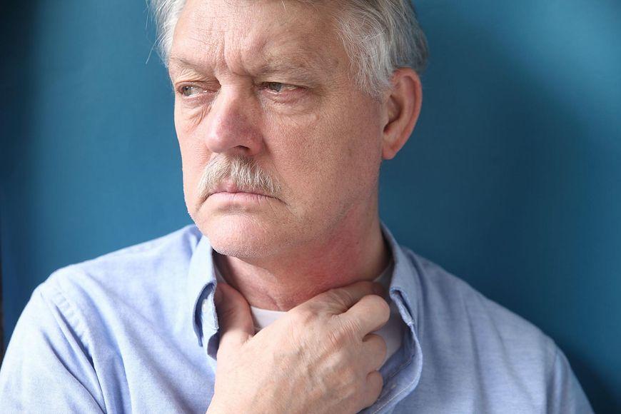 Rak gardła ma bardzo złe rokowania