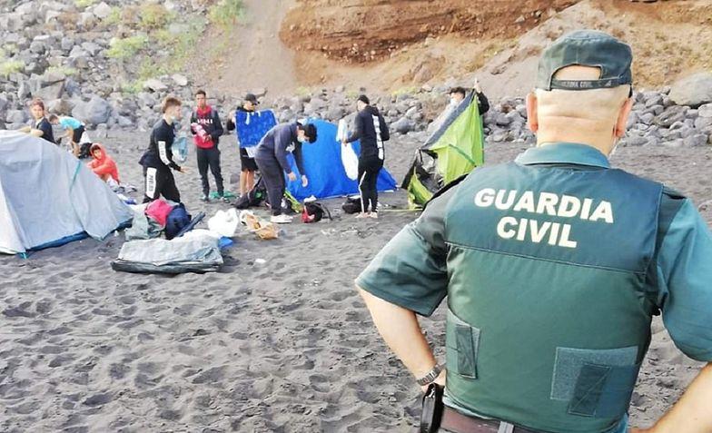 Na Teneryfie policja rozbiła grupę osób zarażających się koronawirusem