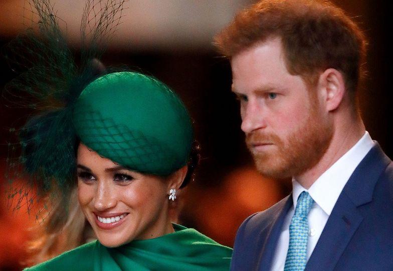 Pałac Buckingham w szoku. Oświadczenie Meghan i Harry'ego