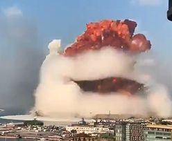 Potężny wybuch w centrum Bejrutu. Przerażające nagrania
