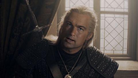 Steven Segal jako Geralt w deepfake'u. Wiedźmin mógłby wyglądać gorzej