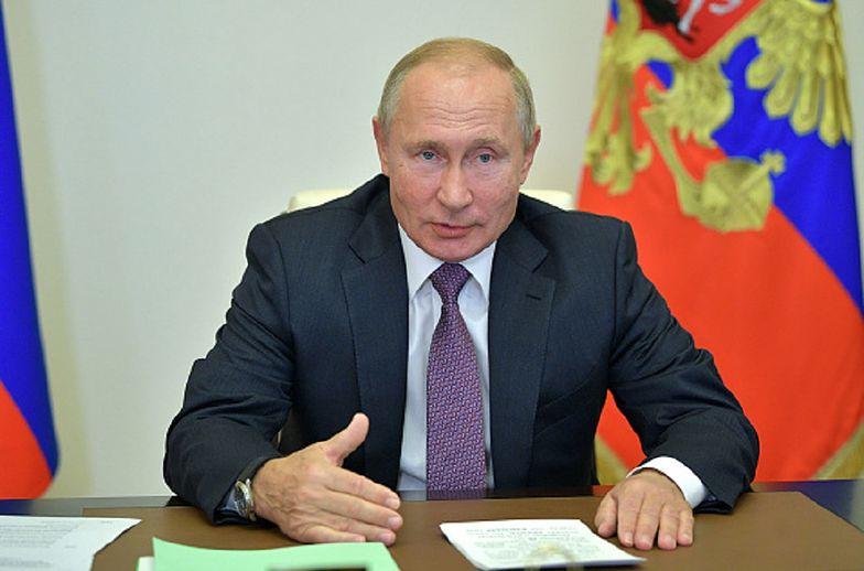 """Władimir Putin wzywa do zakończenia wojny. """"To ogromna tragedia"""""""