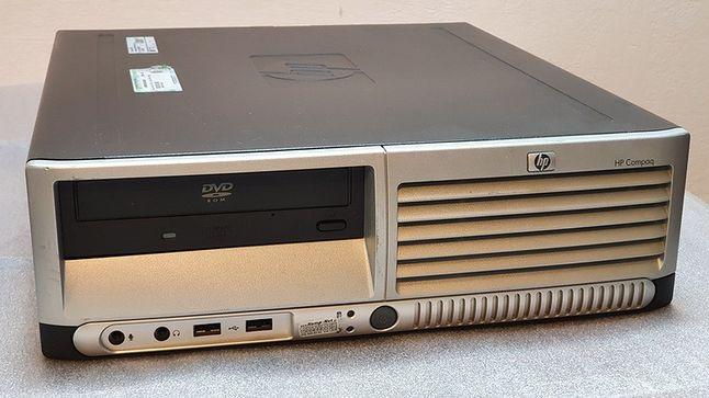 Taki komputer był codziennością dla setek pracowników wspomnianego CallCenter (źródło Allegro Lokalnie)