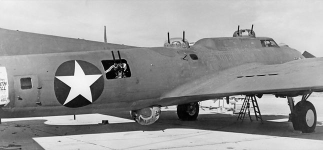 Boeing YB-40. More dakka.