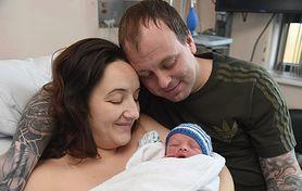 Po 6 latach starań o dziecko i 8 poronieniach, jej marzenie się spełniło. Urodziła syna w Nowy Rok