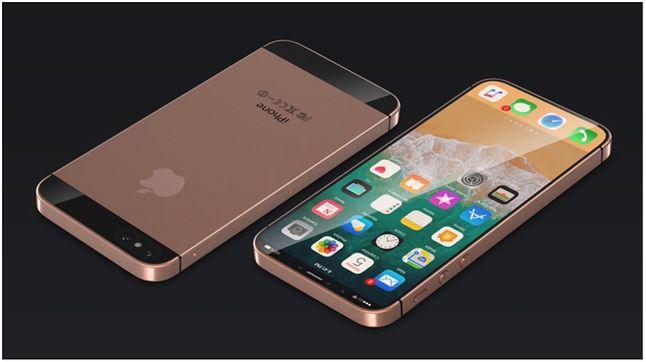 Koncept wzornictwa nowego iPhone'a SE, na którego realizację raczej nie ma co liczyć. Źródło: Concept Creator, iGyann
