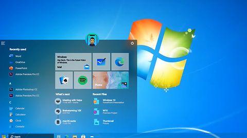 """Windows 10 """"2104"""". PowerPoint wystarczył, by pokazać koncept z elementami Siódemki i XP"""