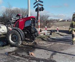Rozerwało traktor. Tyle zostało z zetora. Wstrząsający widok na Lubelszczyźnie