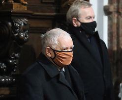 Nie wpuścili mężczyzny do kościoła. W środku modlił się Kaczyński