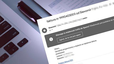 CERT ostrzega: Cyberprzestępcy udostępniają fałszywe faktury na Dysku Google