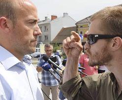 """Mężczyzna zaatakował Borysa Budkę. """"Rozp*****limy was wszystkich"""""""