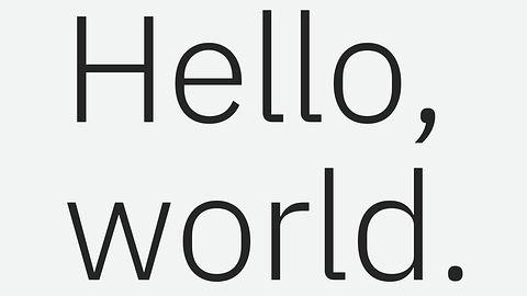 IBM pracuje nad własnym fontem – Helveticą na miarę XXI wieku