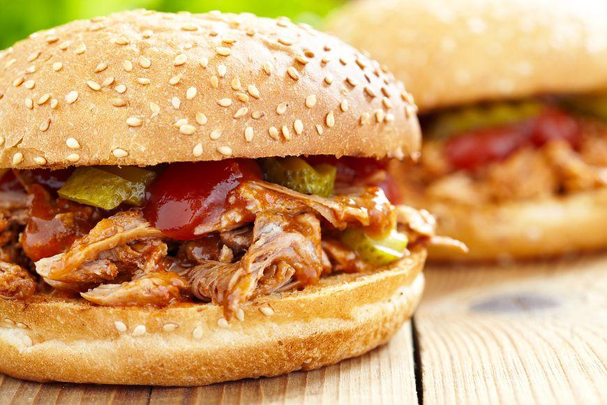 Hamburgery z wieprzowiną