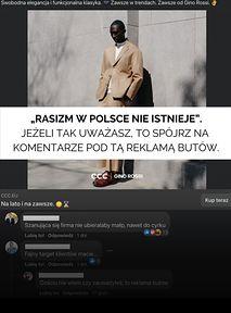 """Wiecznie żywy rasizm polski pod postem CCC: """"Murzyna słoneczko chyba złapało"""""""