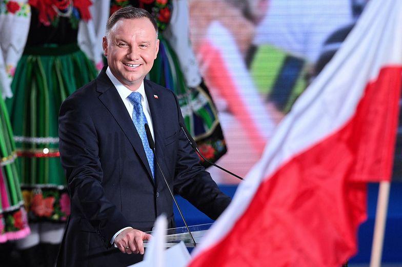 Exit poll: największe poparcie dla Andrzeja Dudy