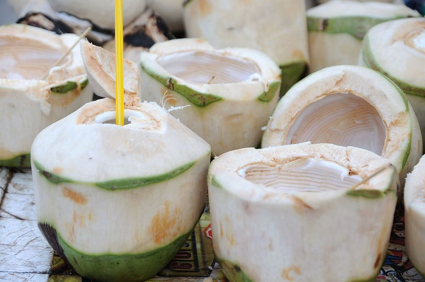 Młody kokos jest naturalnym izotonikiem