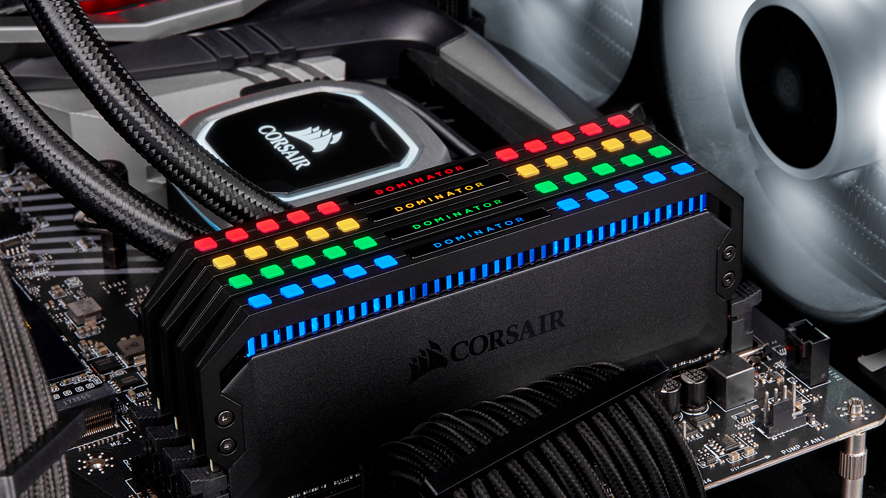 CORSAIR DOMINATOR PLATINUM RGB – nowe pamięci RAM DDR4 z podświetleniem