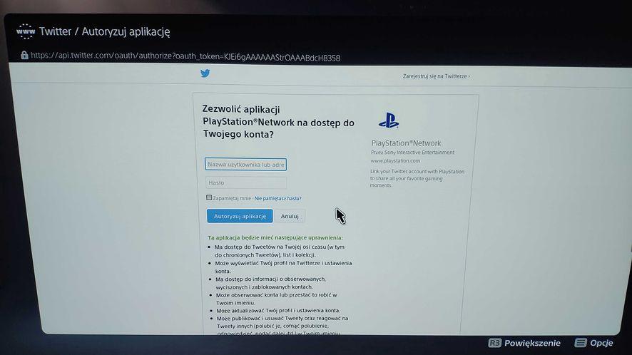 PS5 - przeglądarka
