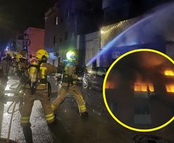 """Pożar pod Barceloną. Są ofiary i wielu rannych. """"Ludzie skakali z okien"""""""