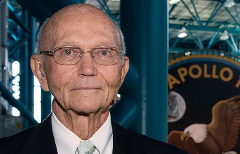 Michael Collins nie żyje. To astronauta z pierwszej misji Apollo 11 na Księżyc