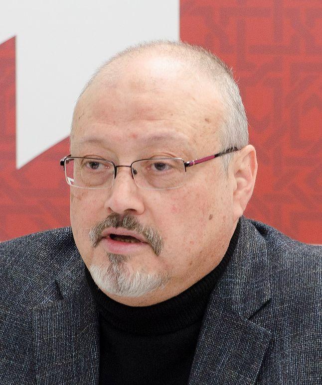 Dżamal Chaszukdżi w 2018 roku