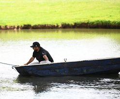 Kuriozalna sytuacja na turnieju golfowym. Joel Sjoholm ratował się przed wpadnięciem do wody