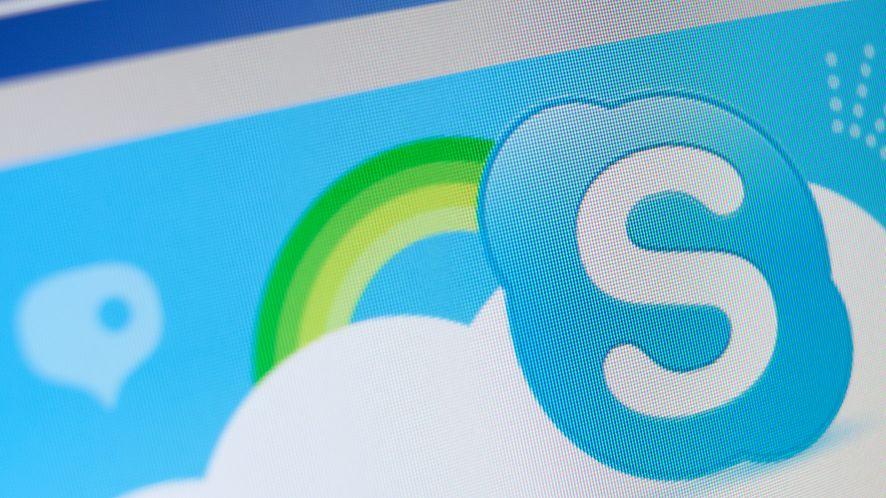 Ikona Skype'a z depositphotos