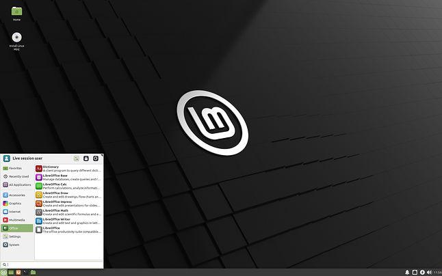 Linux Mint 20 z Xfce