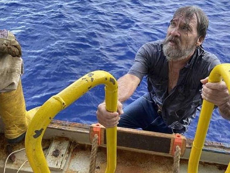 To cud! Znaleźli go na morzu