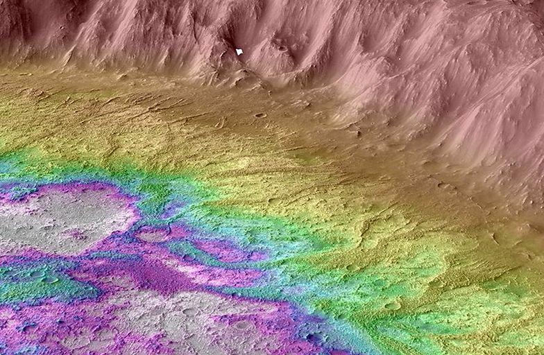 Odkrycie na Marsie. Naukowcy NASA pokazali niesamowite zdjęcie