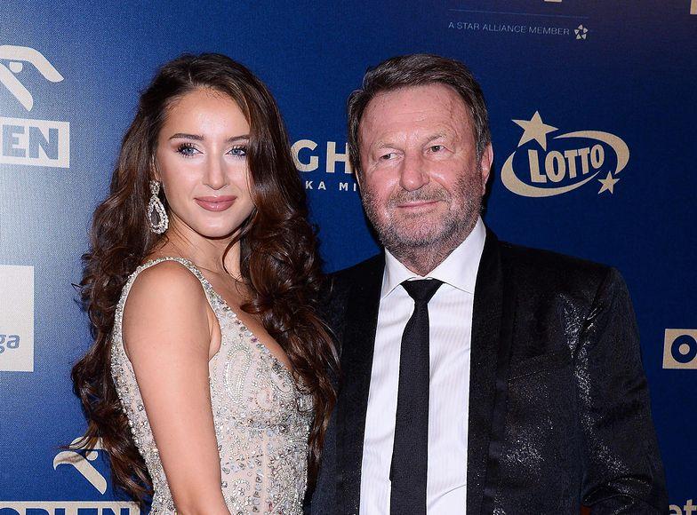 Józef Wojciechowski ojcem w wieku 74 lat. Partnerka miliardera pokazała dziecko