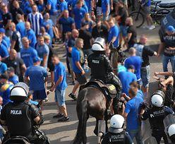 Fanatycy starli się z policją na Śląsku. Zatrzymano 23 osoby