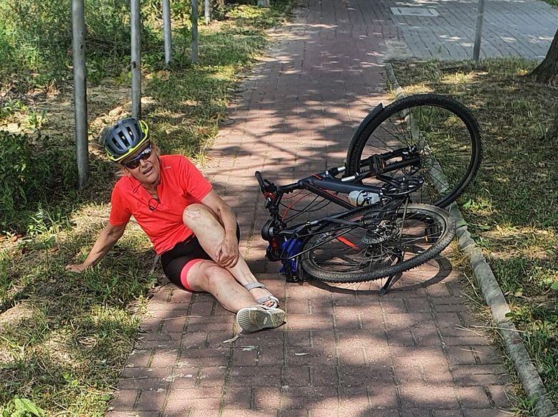 Radna PiS miała wypadek na rowerze. Internauci bezlitośni