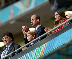 Smutny książę George na Wembley. Tak zareagował na porażkę Anglii